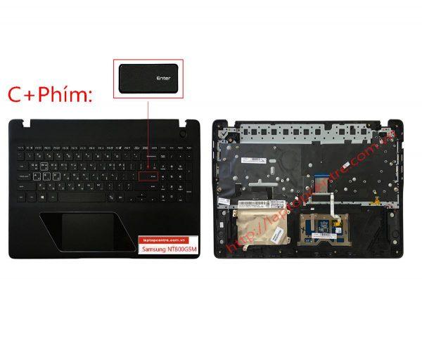 Ban phim laptop Samsung NP800G5M Gaming